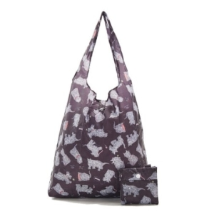 Black Scatty Scotty Shopper