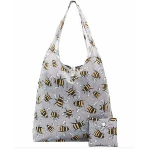 Grey Bees Shopper
