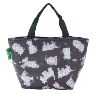 Black Scatty Scotty Lunch Bag