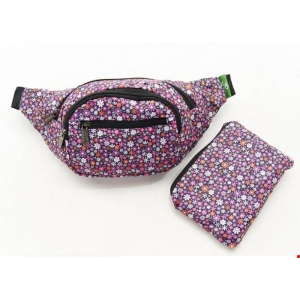 Purple Ditsy Bum Bag