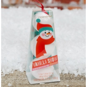 Snowman Bath Fizzers Set Of 3