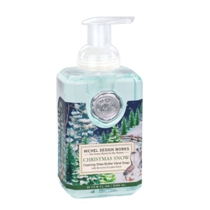 Christmas Snow Foaming Soap