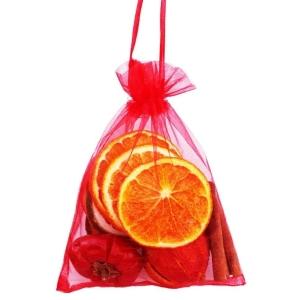 Fruit Organza Bag Red