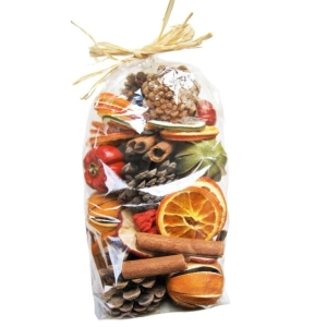 Cone Cinnamon And Fruit Bag