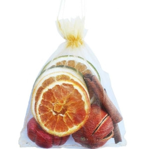 Fruit Organza Bag Gold
