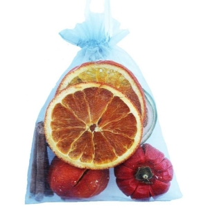 Fruit Organza Bag Silver