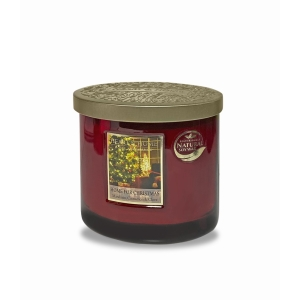 Twin Wick Candle Home For Christmas Red