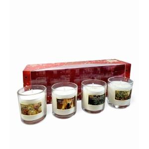 Mini Candle Gift Set Of 4 Votives