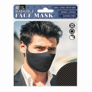 Face Mask Carbon Fibre