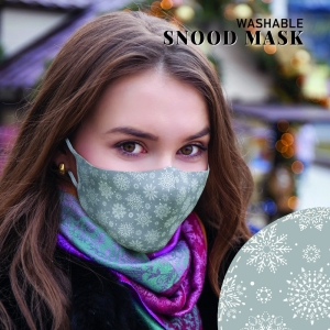 Face Mask Snowflake M