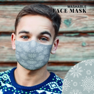 Face Mask Snowflake L