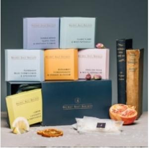 Secret Salt Society 6 Bath Infusions Gift Boxed