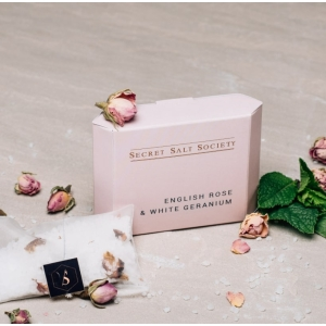 Salt Society Bath Infusion Rose+White Geranium