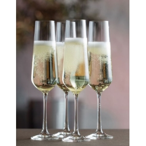 Cheers Champagne Flute Four Pack