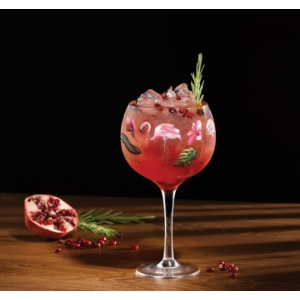 Flamingo Copa Glass