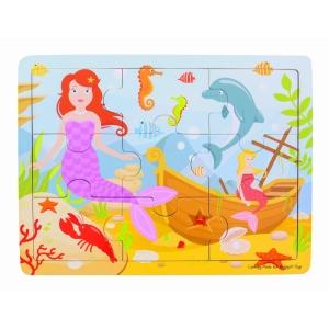 Tray Puzzle Mermaid