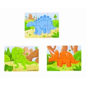 Dinosaur 6 Piece Puzzle