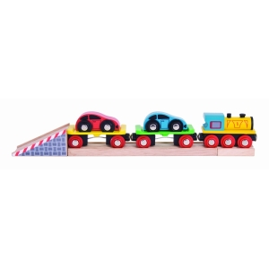 Bigjigs Rail Train Car Loader