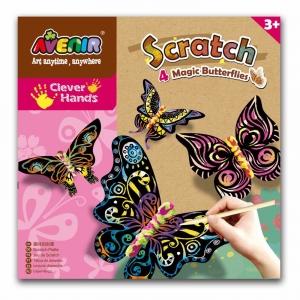 Scratch Butterflies