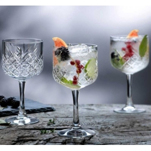 Timeless Vintage Gin And Tonic Glass