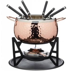 Artesa Copper Fondue Set
