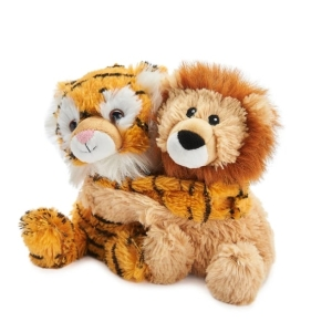 Lion and tiger warm hugs