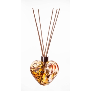 Reed Diffuser Heart In Gold