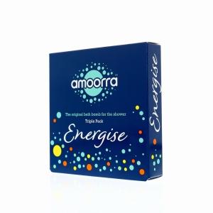 Amoorra Energise Shower Tablet Triple Pack