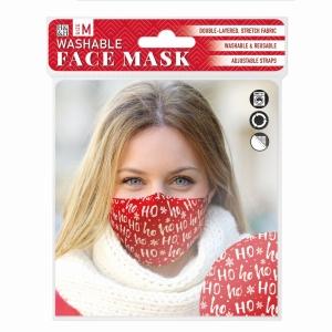 Face Mask Ho Ho Ho