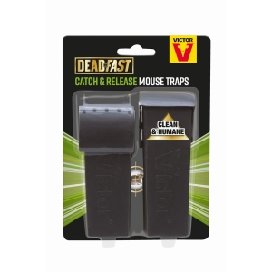 Deadfast Live Catch Mouse Twin Pack