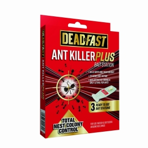 Deadfast Ant Killer Bait Station 3Pk