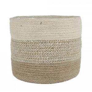 Vika Seagrass Basket Fawn