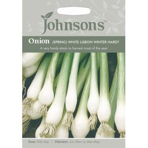 Onion Spring Wht Lisbon Winter Hardy JAZ
