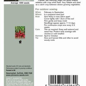 Radish Scarlet Globe JAZ