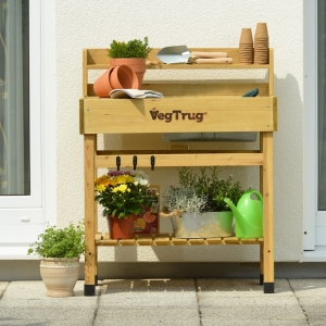 Deluxe Potting Bench Natural