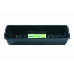 Premium Window Sill Seed Tray Holes Black 37