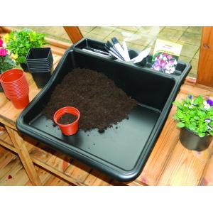 Compact Tidy Tray Black