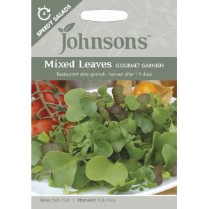 Mixed Leaves Gourmet Garnish SP JAZ