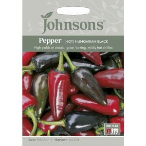 Pepper Hot Hungarian Black JAZ