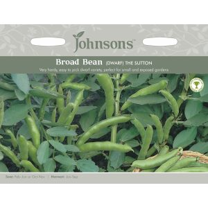 Broad Bean Dwarf The Sutton JAZ