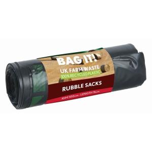 Plain Top Rubble Sacks 6pk 45L