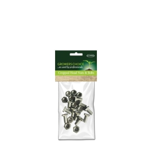 Cropped Head Nuts + Bolts 10Pk