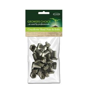 Cruciform Head Nuts + Bolts 10Pk