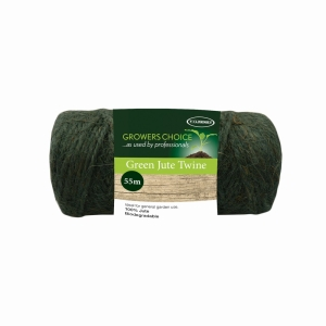 Spool Biodegradable Jute Twine Green 100g, 55m