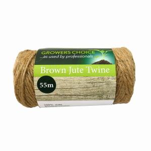 Spool Biodegradable Jute Twine Brown 100g, 55m