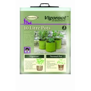 Vigoroot Pots 10L 3 Pack