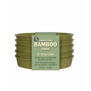 Bamboo Saucer Sage Pk5