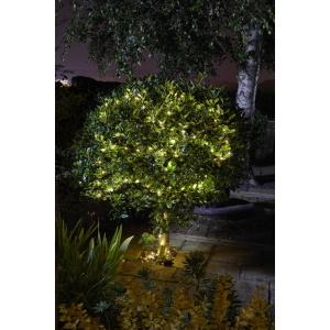 Solar Firefly String Lights 50 Warm White