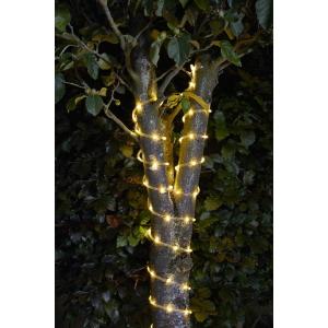 Solar Rope Lights 100 Warm White