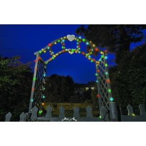 Solar Firefly String Lights 100 Multi Colour